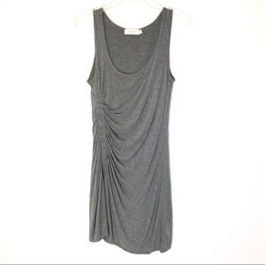 A.L.C. Ruched Short Dress in Gray Size S